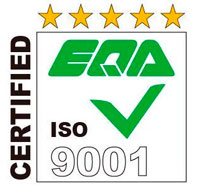 EQA 9001 Certified
