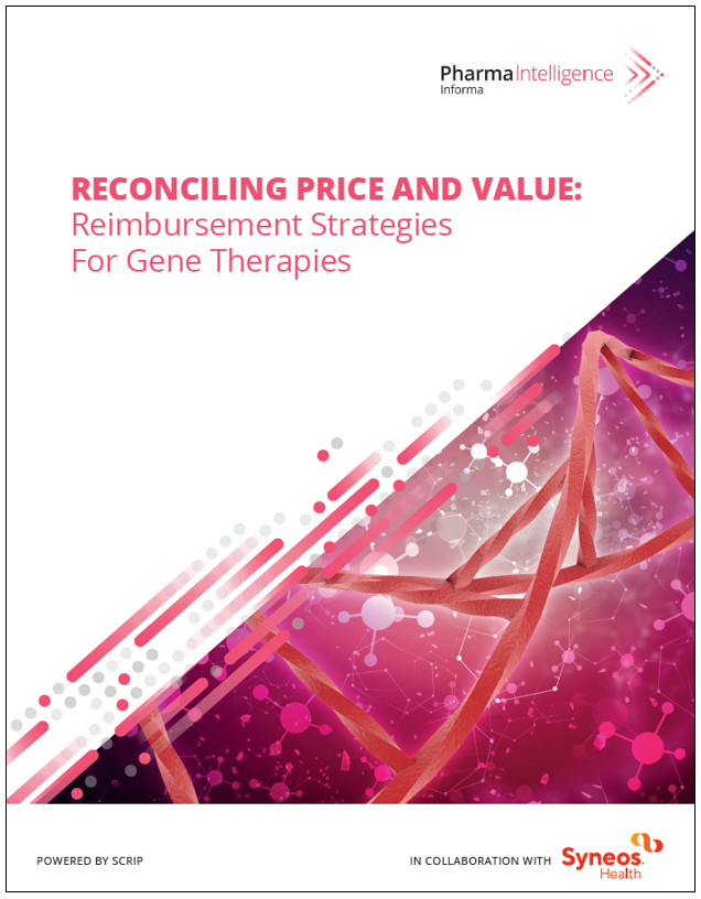 Reconciling Price And Value Reimbursement Strategies for Gene Therapies