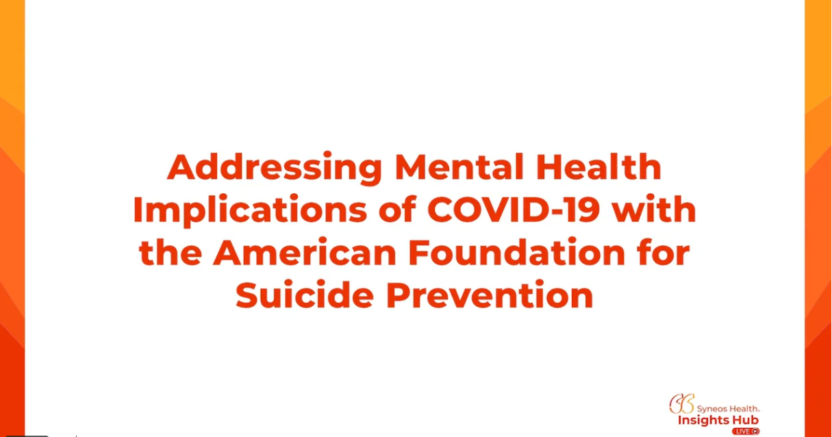 Mental Health Implications of COVID-19