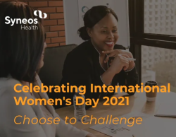 Syneos Health Colleagues Choose to Challenge Gender Disparity on International Women's Day and Beyond
